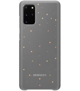 """Originalus pilkas dėklas """"LED Cover"""" Samsung Galaxy S20 Plus telefonui """"EF-KG985CJE"""""""