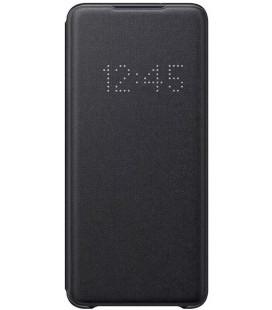 """Originalus juodas atverčiamas dėklas """"LED S-View Case"""" Samsung Galaxy S20 Plus telefonui """"EF-NG985PBE"""""""