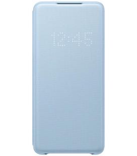 """Originalus mėlynas atverčiamas dėklas """"LED S-View Case"""" Samsung Galaxy S20 Plus telefonui """"EF-NG985PLE"""""""