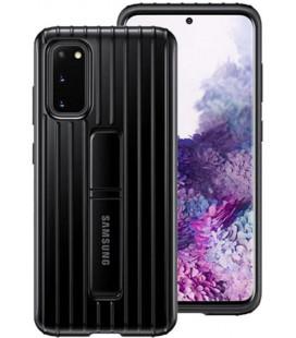 """Originalus juodas dėklas """"Standing Cover"""" Samsung Galaxy S20 telefonui """"EF-RG980CBE"""""""