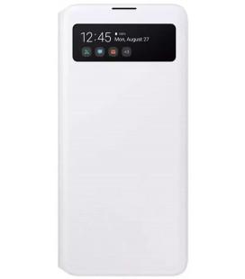 """Originalus baltas atverčiamas dėklas """"S-View Case"""" Samsung Galaxy A51 telefonui """"EF-EA515PWE"""""""