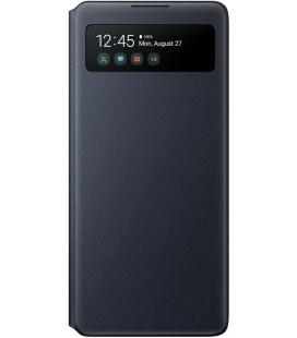 """Originalus juodas atverčiamas dėklas """"S-View Case"""" Samsung Galaxy S10 Lite telefonui """"EF-EG770PBE"""""""