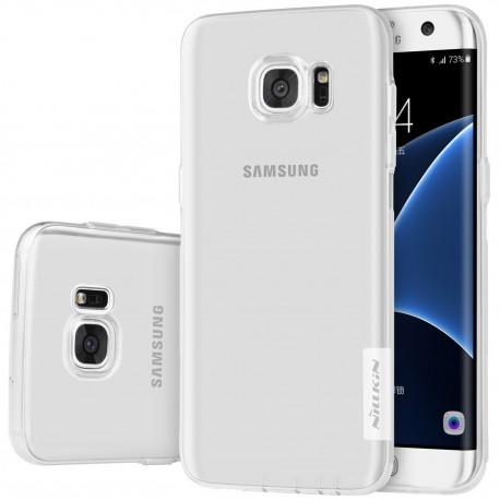 """Skaidrus silikoninis dėklas Samsung Galaxy S7 Edge G935 Telefonui """"Nillkin Nature"""""""