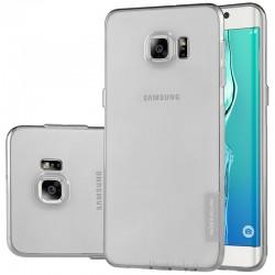 """Pilkas silikoninis dėklas Samsung Galaxy S6 Edge G925 Telefonui """"Nillkin Nature"""""""