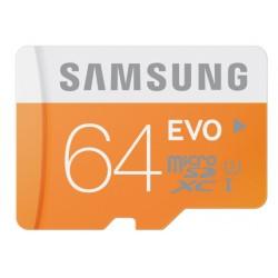 Atminties kortelė MicroSD Samsung EVO 64GB SDXC Class 10 mb-mp64d/eu