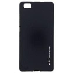 """Juodas Silikoninis dėklas Huawei P8 Lite telefonui """"Mercury iJelly Case Metal"""""""