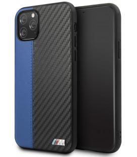 "Mėlynas dėklas Apple iPhone 11 Pro Max telefonui ""BMHCN65MCARBL BMW Carbon Stripe"""