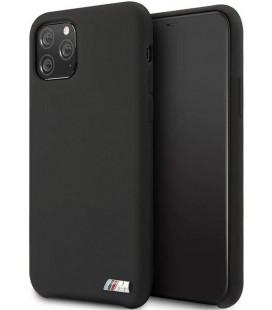 """Juodas dėklas Apple iPhone 11 Pro telefonui """"BMHCN58MSILBK BMW M Silicon"""""""