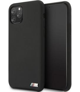 "Juodas dėklas Apple iPhone 11 Pro Max telefonui ""BMHCN65MSILBK BMW M Silicon"""