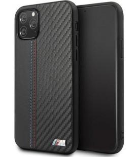 """Juodas dėklas Apple iPhone 11 Pro telefonui """"BMHCN58MCARBK BMW Carbon Strip"""""""