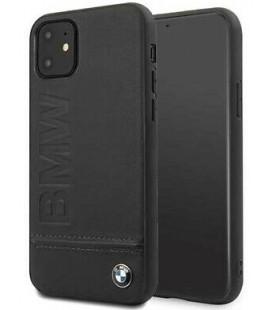 "Juodas dėklas Apple iPhone 11 telefonui ""BMHCN61LLSB BMW Logo ImPrint"""