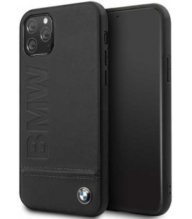 "Juodas dėklas Apple iPhone 11 Pro telefonui ""BMHCN58LLSB BMW Logo ImPrint"""