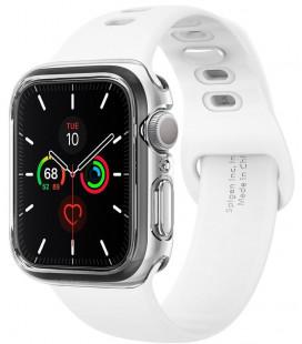 "Skaidrus dėklas Apple Watch 4/5/6/SE (40mm) laikrodžiui ""Spigen Ultra Hybrid"""