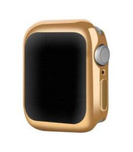 Dėklas Devia Gold-Plated V2 Apple Watch 44mm sidabrinės spalvos