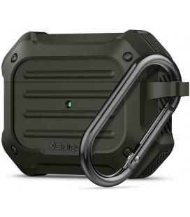 """Žalias dėklas Apple Airpods Pro ausinėms """"Spigen Touch Armor"""""""