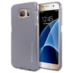 """Pilkas silikoninis dėklas Samsung Galaxy S7 telefonui """"Mercury iJelly Case Metal"""""""