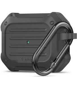 "Pilkas dėklas Apple Airpods Pro ausinėms ""Spigen Touch Armor"""