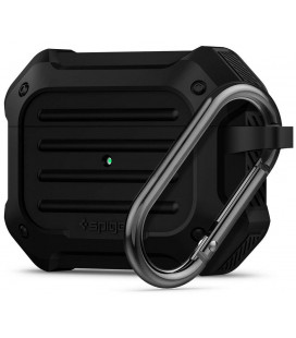"Juodas dėklas Apple Airpods Pro ausinėms ""Spigen Touch Armor"""