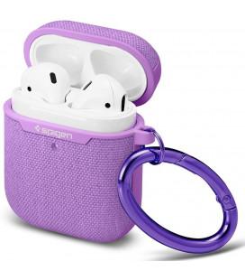 "Purpurinis dėklas Apple Airpods ausinėms ""Spigen Urban Fit"""