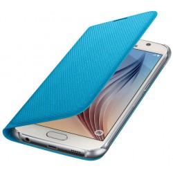 """Originalus mėlynas atverčiamas dėklas """"Flip Wallet"""" Samsung Galaxy S6 telefonui ef-wg920ble"""