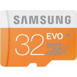 Atminties kortelė MicroSD Samsung EVO 32GB su adapteriu SDHC Class 10 mb-mp32da/eu