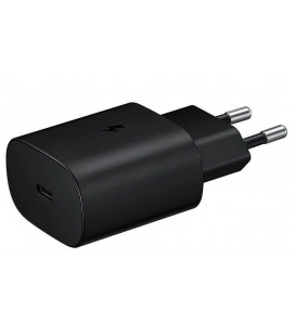"Originalus Samsung juodas Fast Charge 3A USB-C pakrovėjas ""EP-TA800EBE"""