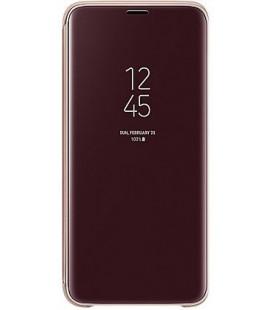 """Originalus auksinės spalvos atverčiamas dėklas """"Clear View Cover"""" Samsung Galaxy S9 telefonui """"EF-ZG960CFE"""""""