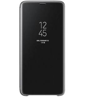 """Originalus juodas atverčiamas dėklas """"Clear View Cover"""" Samsung Galaxy S9 Plus telefonui """"EF-ZG965CBE"""""""
