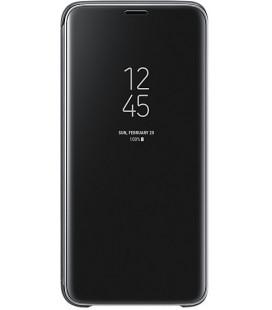 """Originalus juodas atverčiamas dėklas """"Clear View Cover"""" Samsung Galaxy S9 telefonui """"EF-ZG960CBE"""""""