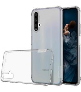 """Pilkas/skaidrus silikoninis dėklas Huawei Honor 20 telefonui """"Nillkin Nature"""""""
