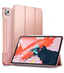 """Rausvai auksinės spalvos atverčiamas dėklas Apple iPad Pro 12.9 2020 planšetei """"ESR Yippee"""""""