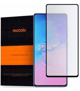 """Juodas apsauginis grūdintas stiklas Samsung Galaxy S10 Lite telefonui """"Mocolo TG Full Glue"""""""