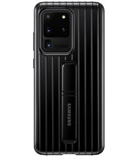 """Originalus juodas dėklas """"Standing Cover"""" Samsung Galaxy S20 Ultra telefonui """"EF-RG988CBE"""""""