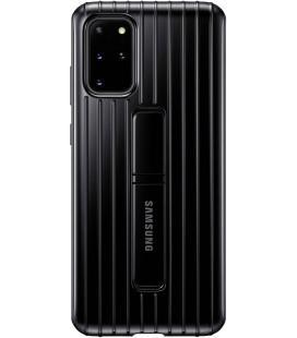 """Originalus juodas dėklas """"Standing Cover"""" Samsung Galaxy S20 Plus telefonui """"EF-RG985CBE"""""""