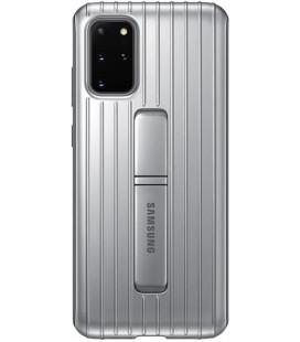 """Originalus sidabrinės spalvos dėklas """"Standing Cover"""" Samsung Galaxy S20 Plus telefonui """"EF-RG985CSE"""""""