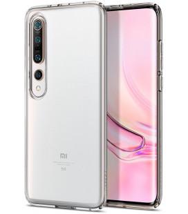 "Skaidrus dėklas Xiaomi Mi 10/10 Pro telefonui ""Spigen Liquid Crystal"""