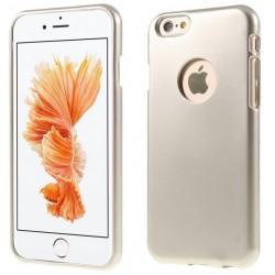"""Atverčiamas auksinės spalvos dėklas Samsung Galaxy S6 Edge Plus Telefonui """"Nillkin Sparkle S-View"""""""