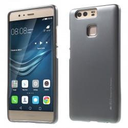 """Pilkas silikoninis dėklas Huawei P9 telefonui """"Mercury iJelly Case Metal"""""""
