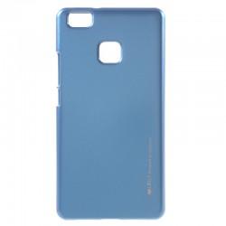 """Mėlynas silikoninis dėklas Huawei P9 Lite telefonui """"Mercury iJelly Case Metal"""""""