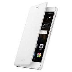 Originalus baltas atverčiamas dėklas Huawei P9 Lite telefonui