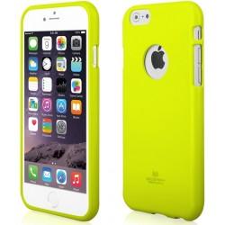 """Žalias dėklas Mercury Goospery """"Jelly Case"""" Apple iPhone 6/6s telefonui"""
