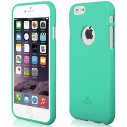 "Mėtos spalvos dėklas Mercury Goospery ""Jelly Case"" Apple iPhone 6/6s telefonui"