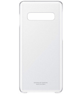 "Originalus skaidrus dėklas ""Clear Cover"" Samsung Galaxy S10 telefonui ""EF-QG973CTE"""