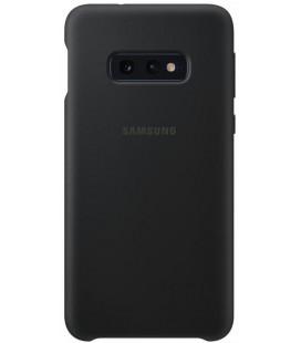 "Originalus juodas dėklas ""Silicone Cover"" Samsung Galaxy S10E telefonui ""EF-PG970TBE"""