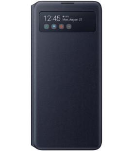 """Originalus juodas atverčiamas dėklas """"S-View Case"""" Samsung Galaxy Note 10 Lite telefonui """"EF-EN770PBE"""""""