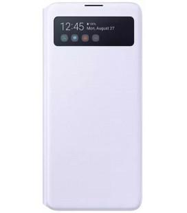 """Originalus baltas atverčiamas dėklas """"S-View Case"""" Samsung Galaxy Note 10 Lite telefonui """"EF-EN770PWE"""""""