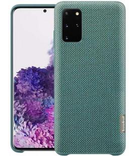 """Originalus žalias dėklas """"ReCycled Cover"""" Samsung Galaxy S20 Plus telefonui """"EF-XG985FGE"""""""