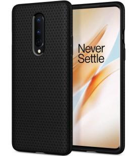 "Juodas dėklas Oneplus 8 telefonui ""Spigen Liquid Air"""