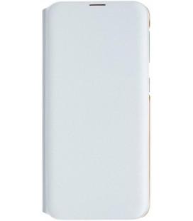 """Originalus baltas atverčiamas dėklas """"Wallet Case"""" Samsung Galaxy A70 telefonui """"EF-WA705PWE"""""""