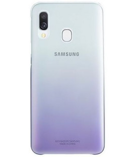 "Originalus violetinis dėklas ""Gradation Cover"" Samsung Galaxy A40 telefonui ""EF-AA405CVE"""